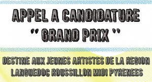 "Appel à Candidature ""GRAND PRIX"""